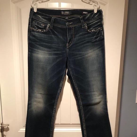 Silver Jeans Suki 33/33